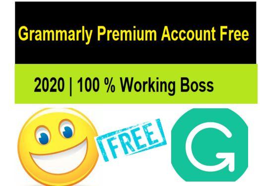 Free Grammarly Premium Cookie 2020