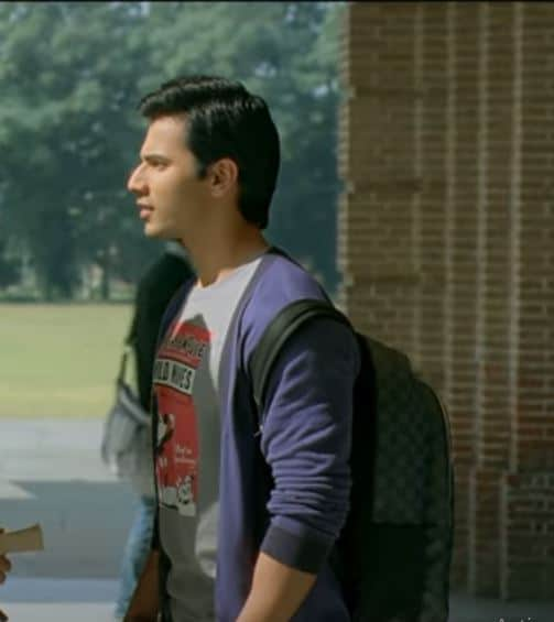 Varun Dhawan Hairstyle in Student Of The Year