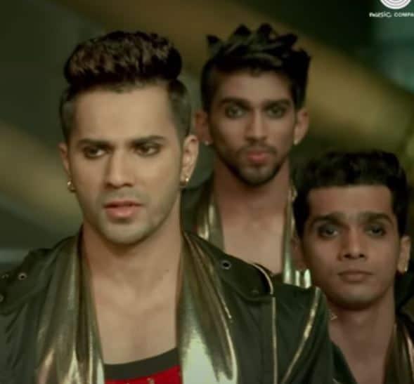 Varun Dhawan Hairstyle in ABCD 2
