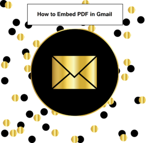 how to embed a pdf in gmail