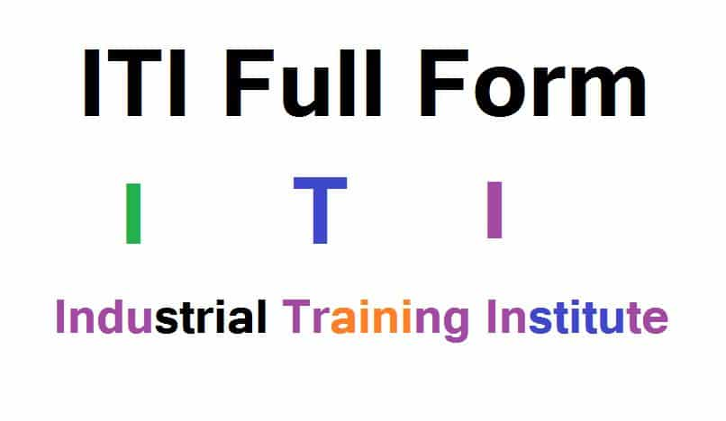 ITI full form